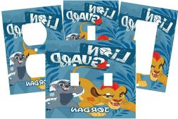 PERSONALIZED THE LION GUARD KIDS WALL LIGHT SWITCH PLATE COV