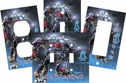 PERSONALIZED TRANSFORMER OPTIMUS PRIME LIGHT SWITCH PLATE CO