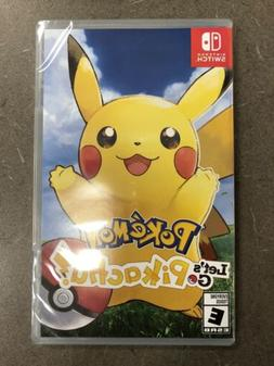 Pokemon: Let's Go, Pikachu!! for Nintendo Switch FREE SHIPPI