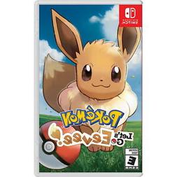 Pokemon: Lets Go Evee for Nintendo Switch Video Game BRAND N