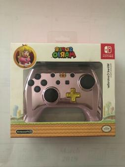Power A Nintendo Switch Super Mario Peach Wired Controller -