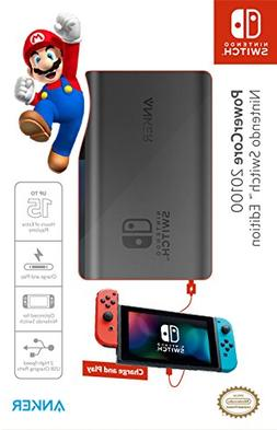 Anker PowerCore 20100 Nintendo Switch Edition, The Official