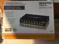 Netgear ProSAFE GS108-400NAS  Gigabit Fast Ethernet Switch