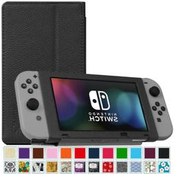 Fintie Protective Case for Nintendo Switch 2017 Slim Fit Pla
