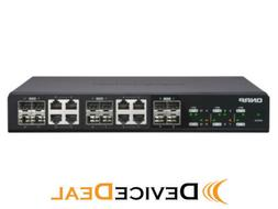 QNAP QSW-1208-8C 12 Port Unmanaged Switch with 10GbE SFP+, C