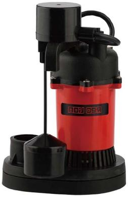 Little Giant 1/3 HP Vertical Switch Sump Pump 3200gph
