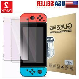Screen Protector Tempered For Nintendo Switch Glass HD Clear