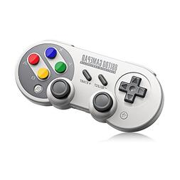 8Bitdo SF30 Pro,Wireless Bluetooth Controller with Classic J