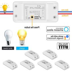 Smart Life WIFI Light Switch Module Wireless Work With Alexa