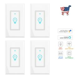 Smart Light Switch, Compatible with Alexa, Google Home IFTTT
