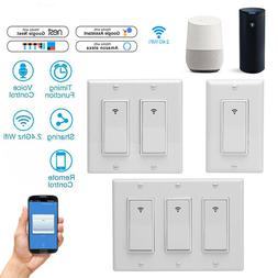 Smart Touch Light Wi-Fi Wall Switch Remote Modern Panel For