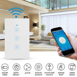 Smart WIFI Light Switch Remote Alexa Google Home IFTTT Voice