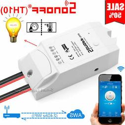 Sonoff- WiFi Wireless Smart Home Switch Module Monitor For I