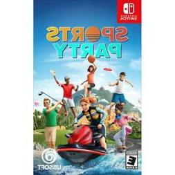 sports party nintendo switch 2018 brand new