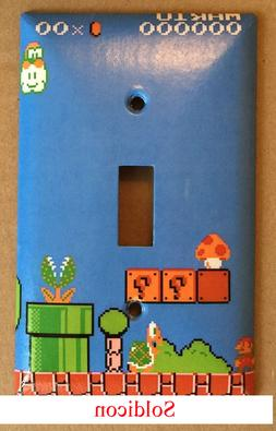Super Mario brothers Games Light Switch Outlet Wall Cover Pl