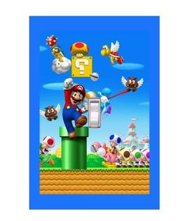 Timeless Invite Super Mario Video Game Lightswitch Cover- Su