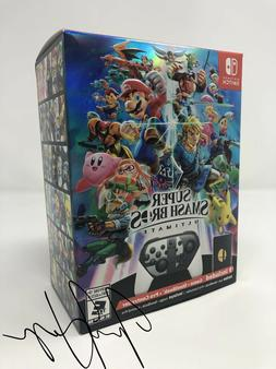 super smash bros ultimate edition switch limited