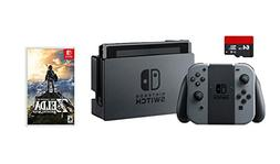 Nintendo Switch 3 items Game Bundle:Nintendo Switch 32GB Con