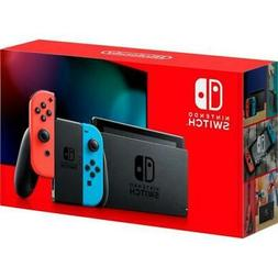 Nintendo Switch 32GB Console w/ Neon Blue & Neon Red Joy Con