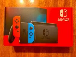 switch 32gb console with neon red