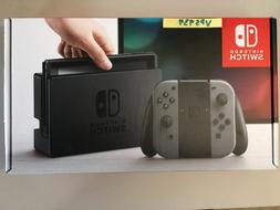 switch 32gb gray console with gray joy