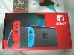 Nintendo Switch 32GB Gray Console with Neon Red & Neon Blue