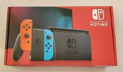 🎮 Nintendo Switch 64GB Console Neon Blue And Neon Red Joy