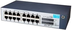 HP 1410-16 Switch - switch - 16 ports - unmanaged