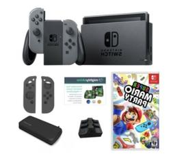 Nintendo Switch Bundle with Super Mario Party, Case and Acce