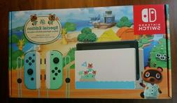 Nintendo Switch Console 32GB Animal Crossing New Horizons Ed