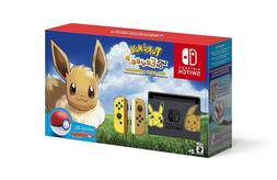 switch console bundle pikachu and eevee edition