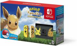 Nintendo Switch Console Bundle - Pikachu & Eevee Edition wit