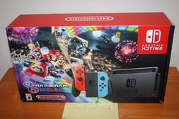 Nintendo Switch Console Bundle w/Mario Kart 8 Deluxe - NEW S