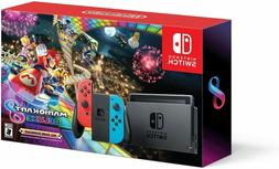 Nintendo Switch with Mario Kart 8 Deluxe Console Bundle with