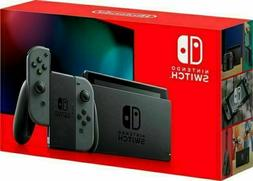 switch 32gb console with gray joycons brand