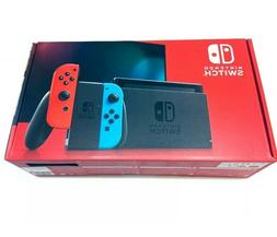 ✅ Nintendo Switch 32GB Console Neon Blue And Neon Red Joy