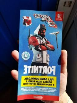 Nintendo Switch Fortnite *Double Helix Bundle DLC CODE* CARD
