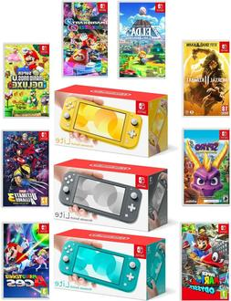 switch lite 32gb handheld video game console