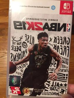 NINTENDO SWITCH NBA 2K19 VIDEO GAME NEW FACTORY SEALED FREE