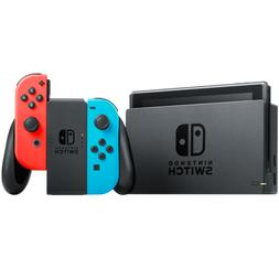 switch v2 neon red and blue joy
