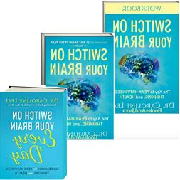 Switch on Your Brain Key to Peak Happiness Book, Workbook, D