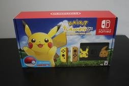 Nintendo Switch Pikachu & Eevee Edition with Pokemon: Let's