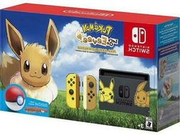 Nintendo Switch - Pikachu & Eevee Edition with Pokémon: Let