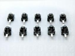 Switch with on/off push button-mini black switch for small e