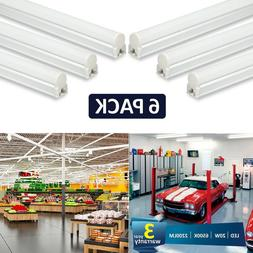 Barrina LED T5 Integrated Single Fixture, 4FT, 2200lm, 4000