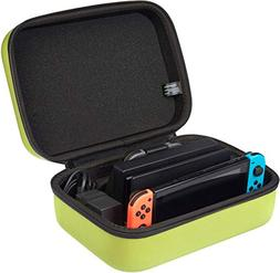 AmazonBasics Travel and Storage Case for Nintendo Switch, Ne