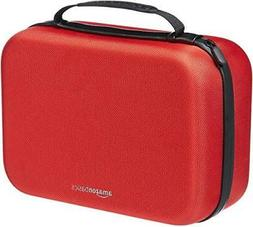 Travel and Storage Case for Nintendo Switch  Red