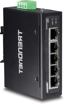 trendnet 5 port hardened industrial gigabit din