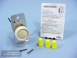 Leviton Trimatron Ivory 3-Way Rotary Push ON/OFF Light Dimme