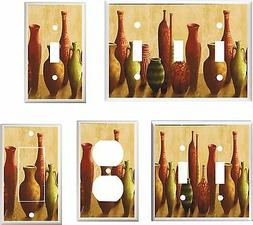 TUSCAN URNS VASES LIGHT SWITCH COVER PLATE    U PICK PLATE S